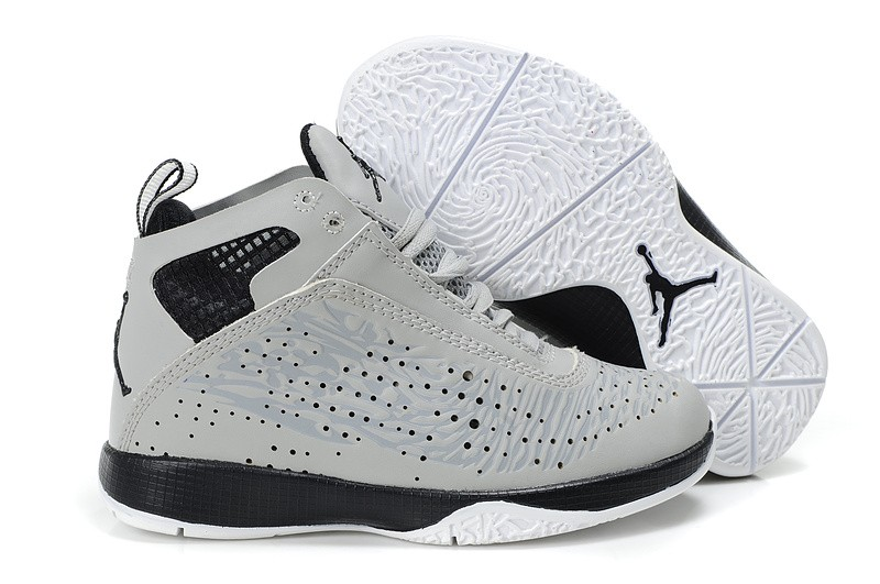 san francisco 4e51b 67c80 Nike Air Jordan 26 Enfant Gris Noir
