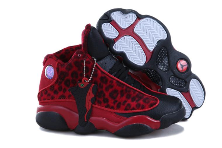 meet 94559 cdfc9 Air Jordan XIII Enfant Basket Rouge