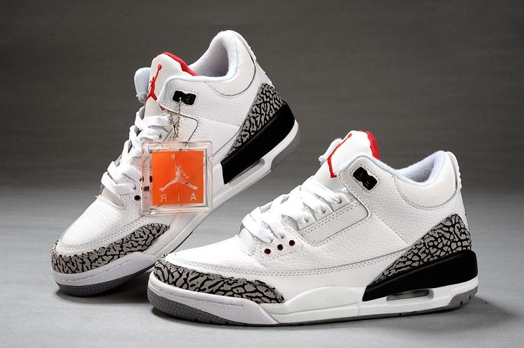 best loved 7cb1c ff26f Nike Air Jordan 3 Retro Pour Femme Blanc