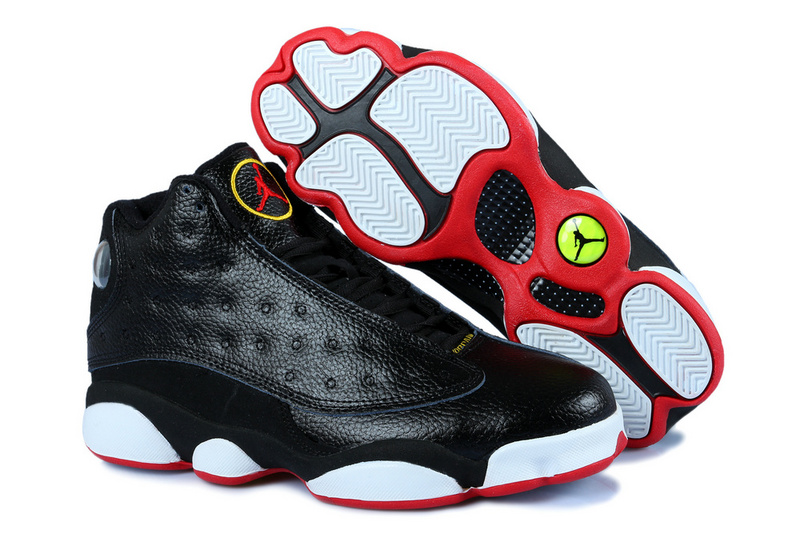 official photos 29714 f61ae Air Jordan XIII Homme Basket Noir Blanc Rouge
