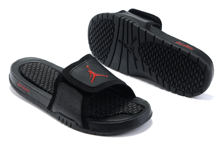 timeless design f5ba6 76256 Air Jordan Hydro 2 Sandals Homme Noir Rouge