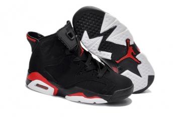 1c837ffe63cdc Air Jordan Enfant VI Basket Noir Rouge  AirJordan-Enfant0003 ...