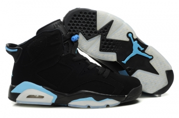 air jordan 6 retro noir bleu